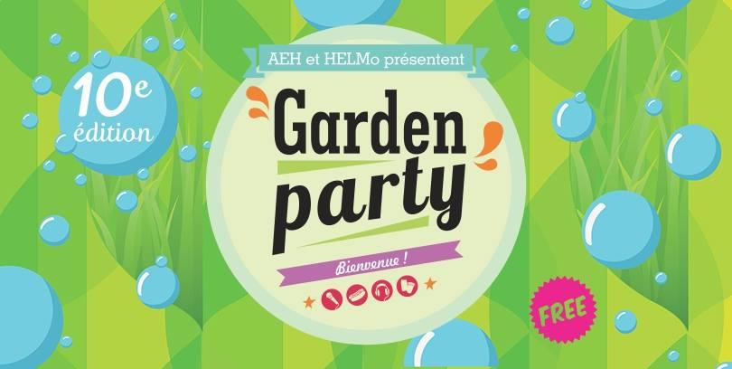 Bannière Garden Party 2017